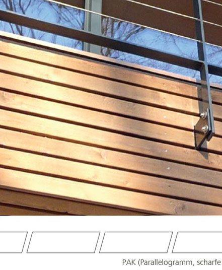 Mocopinus Fassadenprofile Aus Holz