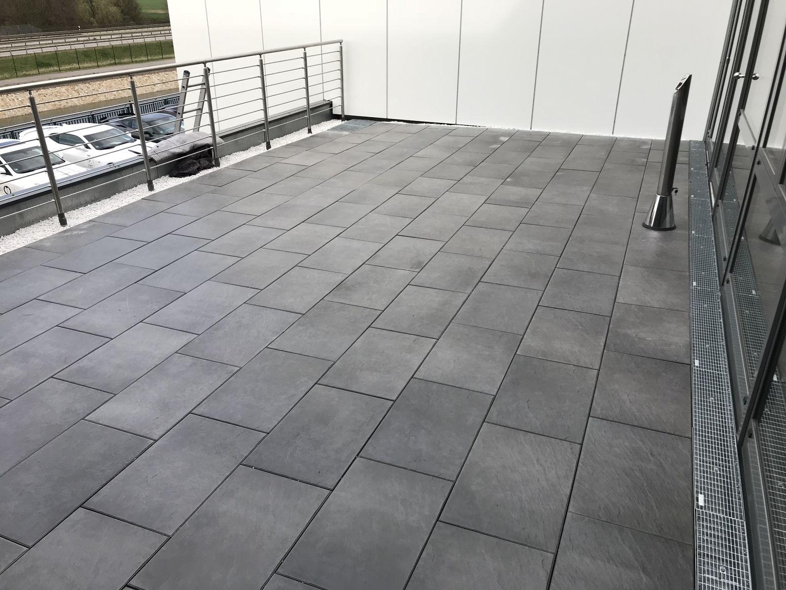 Fabulous Terrassenplatten verlegen - Köhler Bedachungen | Kreischa bei Dresden VM89